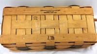 Longaberger Basket & 2 Factory Sealed Bread