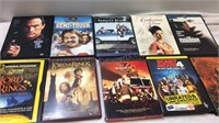 Assorted DVDs Inc Lord of the Rings - all