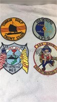 Assorted Embroidered Military Patches