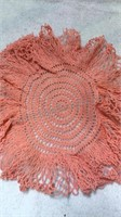Assorted Vintage Colorful Doilies