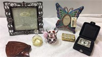 Picture Frames, Trinket Box, Tiny Vase and more