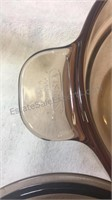 Vision France Amber Glass Double Boiler