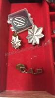 Pilot Log,  Pins & Assorted AA Pins
