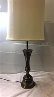 Brass Style 3 Way Table Lamp 37 1/2 inch