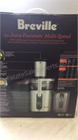 Breville The Juice Fountain Multi Speed Juicer -