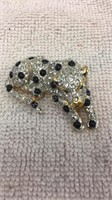 Pair of Rhinestone Brooches/Pins