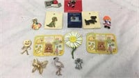 Assorted Brooches/Pins