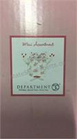 4 Department 56 Krinkles Mini Valentine Ornaments