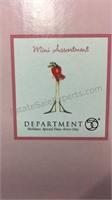 4 Department 56 Mini Valentine Ornaments - NIB
