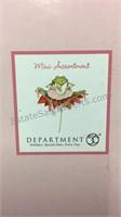 3 Department 56 Mini Valentine Ornaments- NIB