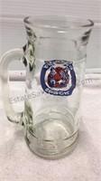 Detroit Tigers Glass Stein & Bud Light Bottle
