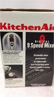Kitchen Aid 9 Speed Mixer & Pastry Mat