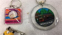 Mickey, Barbie, Happy Days & Souvenir Key Chains