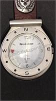Brook stone Golf Pocket Watch & Pen/Post it Note
