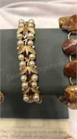 Assorted Costume Jewelry Bracelets INC 12 Kt Gold