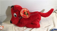 Clifford, Gund & Other Assorted Stuffed Animals