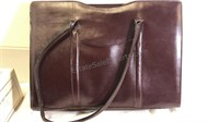 Avenues In Leather Fine Leather Briefcase NIB
