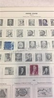 The Harris Freedom Stamp Album w/Stamps &