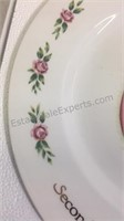 Pair of Avon Collector Plates