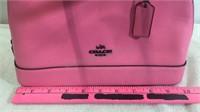 Pink Coach Handbag