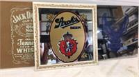 Stroh's Beer, Harley Davidson Mirrors & Jack