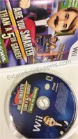 Assorted Wii Games - Rapala We Fish Game Factory