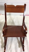 Reco Lullaby Collector Doll - rocking chair piece