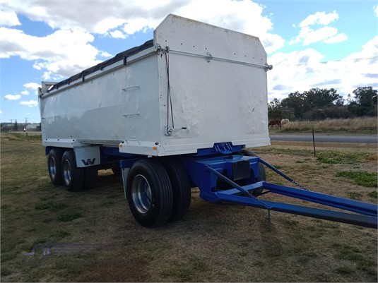 2004 Homemade Tipper Trailer - Trailers for Sale