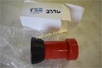 Polycarbonate Fire Hose Nozzle Jet Fog Nozzle 1