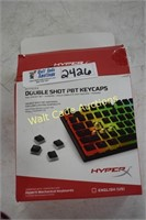 Keyboard Caps Double Shot PBT Hypertex