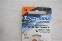 Batteries Powermax Hearing Aid Batteries