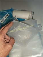 Dispencer, Syringe with Hose and Clear Bags