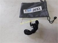 Microphone in Zip up Case