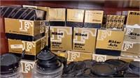 Very large lot of Nikon camera equipment. Many