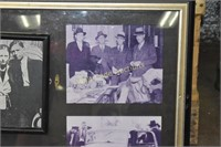 Bonnie and Clyde wall decor approximately