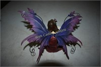 Dream Fairy with Purple Wings approximately 6""