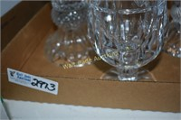Crystal pieces lot of 3 includes Shannon Crystal