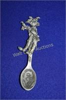 Wizard of Oz Collectors Spoons lot of 4 Vintage
