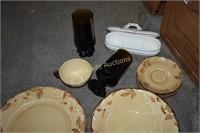 Dinnerware and Glassware Mixed lot