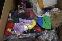 Arts & Crafts Mixed Lot Large- Beads, Stamps,