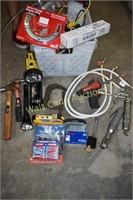 Tools Mixed lot- Hammer, Flashlights, Dremel