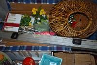 Pallet Grab Lot- Books,Vinyl Records,  Holiday