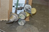 Welding Torch and Gauges  with Hoses and Fittings