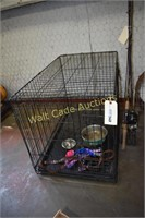 "Dog Kennel Wire Approximately 25""x36""x22"""