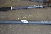 Pick Mattock with Fiberglass Handle and Fiscar