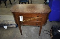 Sewing Machine Antique White Rotary in Case with
