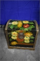 Storage Trunk Wooden Decorative Appears Hand