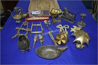 Brass Trinkets & Figurines Home Decor Mixed Lot