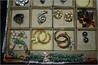 Costume Jewelry Mix lot Rings, Earrings and