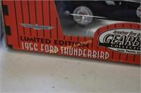 Texaco Limited Edition Die cast Thunderbird  set